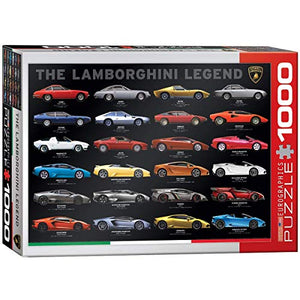 EuroGraphics The Lamborghini Legend Puzzle (1000 Piece)