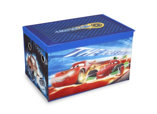 Delta Children's Products - Collapsible Cars Fabric Toy Box