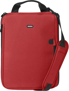 "Cocoon CLB408RD East Village 16"" Laptop Case includes GRID-IT! Accessory Organizer (Racing Red)"