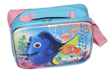 Disney Finding Dory 3-D Lunch Kit With Long Strap (One Size, Turquoise/Multi)
