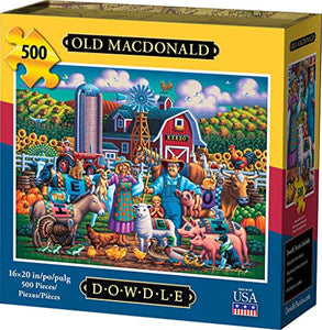 Dowdle Jigsaw Puzzle - Old Macdonald - 500 Piece