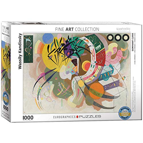 EuroGraphics Dominant Curve by Wassily Kandinsky (1000 Piece) Puzzle (6000-0839)