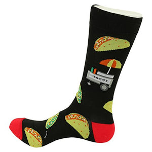 FineFit Man Cave Trouser Socks - One Size, Taco Black