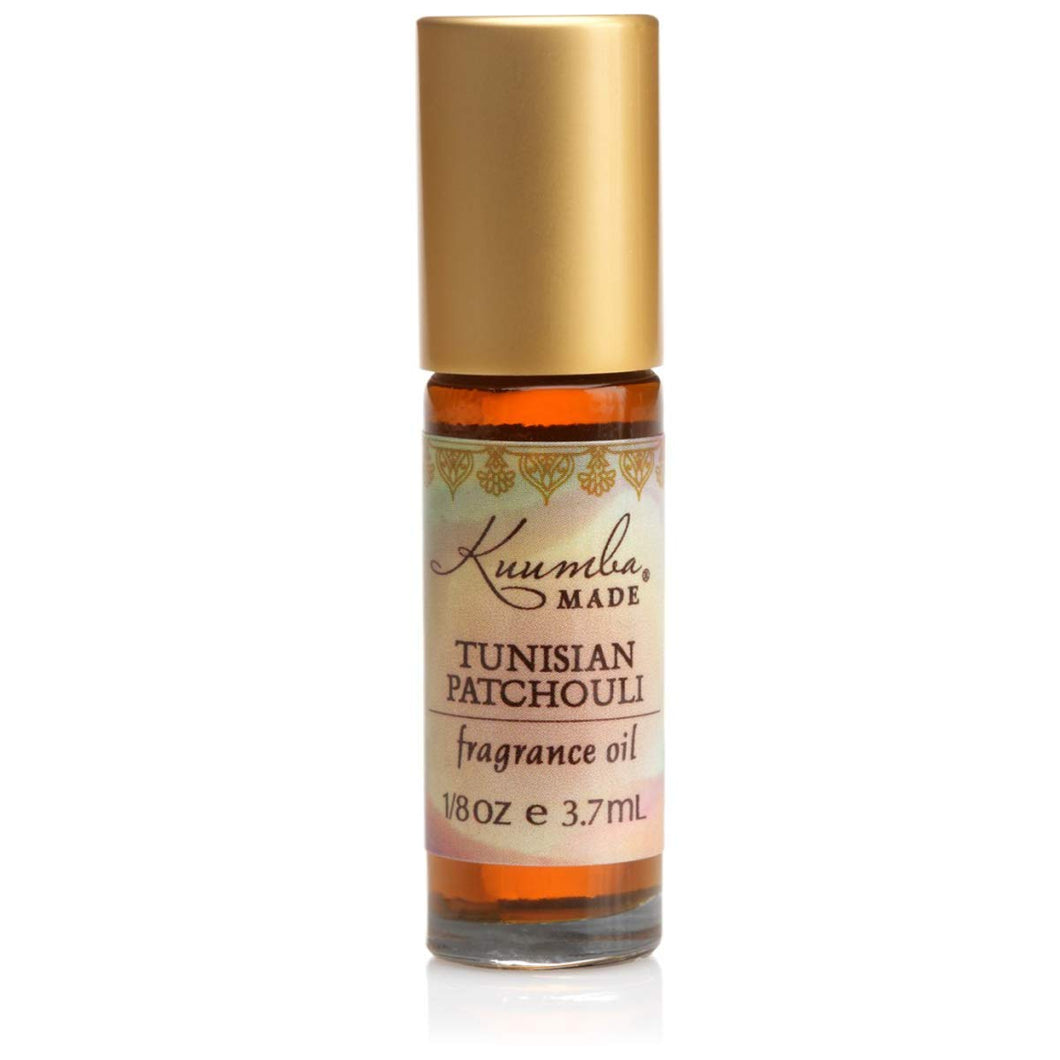 Kuumba Made Tunisian Patchouli Fragrance Oil Roll-On .125 Oz / 3.7 ml (1-Unit)