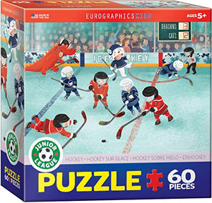 EuroGraphics Hockey Junior League Puzzle (60-Piece)