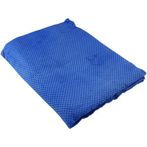 Arctic Chill Blue Cooling Towel - Blue