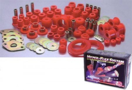 Energy Bushings Hyper-Flex Master Kit Black Subaru Impreza
