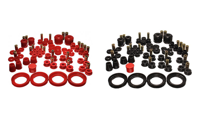 Energy Bushings Hyper-Flex Master Kit Red Prelude