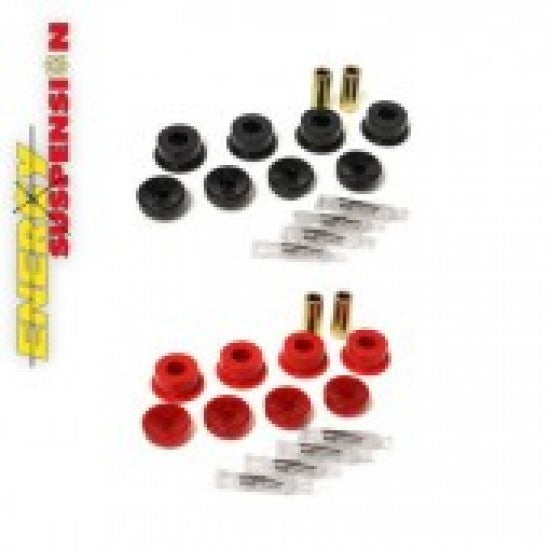 Energy Shock Absorber Bushings Front Top & Lower Red Civic,C