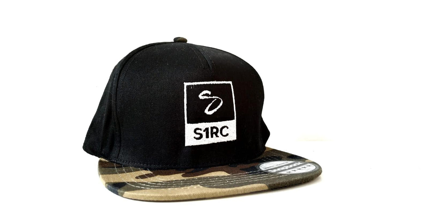 S1RC Snapback Limited Edition 2018 - Camo Black/Military