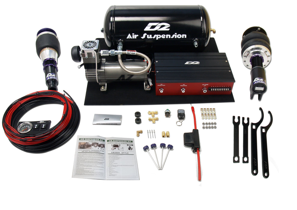 Deluxe Air Suspension Kit - Civic/Crx 1987-1992 (Rear Fork)