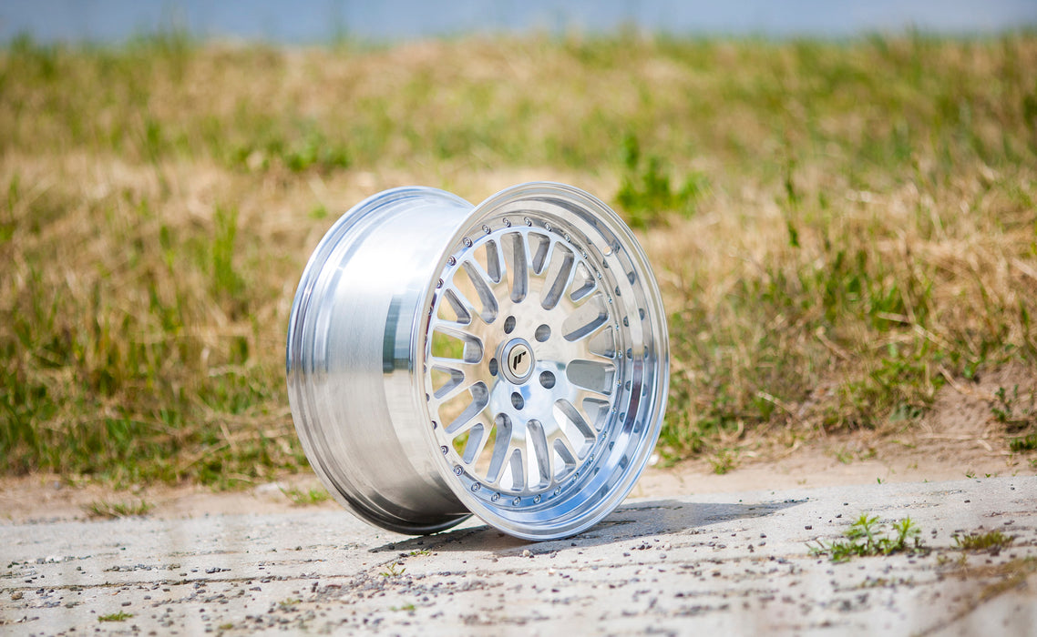 JR-Wheels JR10 Wheels Full Machined 18 Inch 8.5J ET40-45 Blank