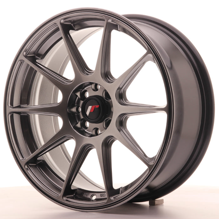 JR-Wheels JR11 Wheels Hyper Black 17 Inch 7.25J ET25 4x100/108