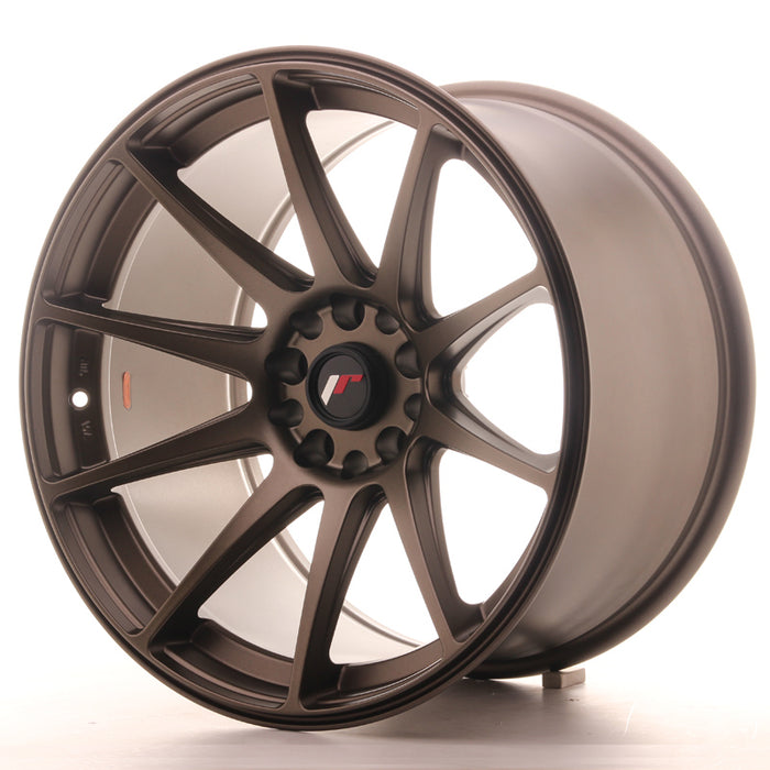 JR-Wheels JR11 Wheels Dark Flat Bronze 18 Inch 10.5J ET22 5x114.3/120