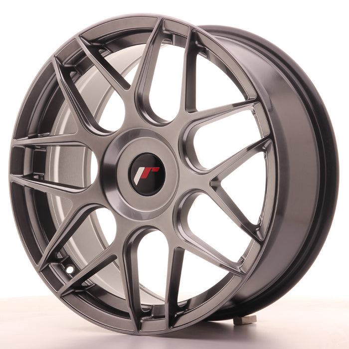JR-Wheels JR18 Wheels Hyper Black 18 Inch 7.5J ET25-40 Blank