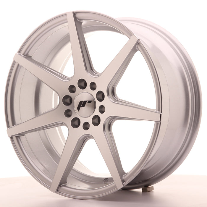 JR-Wheels JR20 Wheels Silver Machined 18 Inch 8.5J ET35 5x100/120