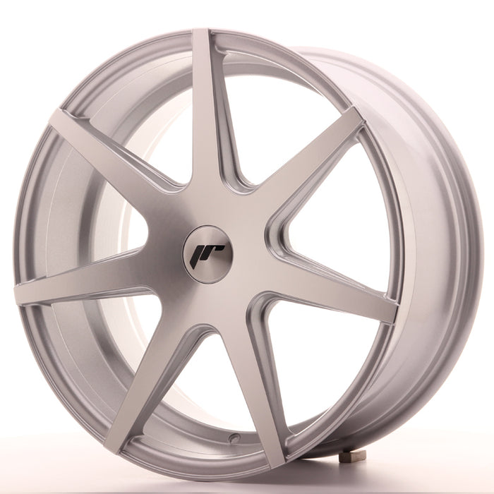 JR-Wheels JR20 Wheels Silver Machined 19 Inch 8.5J ET35-40 Blank
