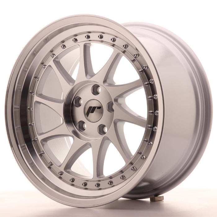 JR-Wheels JR26 Wheels Silver Machined 18 Inch 9.5J ET35 5x120