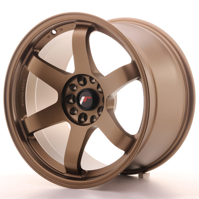 JR-Wheels JR3 Wheels Dark Anodize Bronze 18 Inch 10.5J ET15-35 Blank