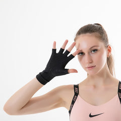 Aidfull Copper Infused Arthritis Compression Gloves