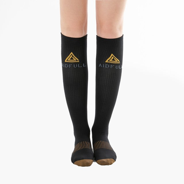 Aidfull Copper Lined Compression Socks Unisex