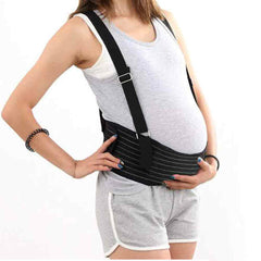 Maternity Belt Mommy Belt with Shoulder Straps