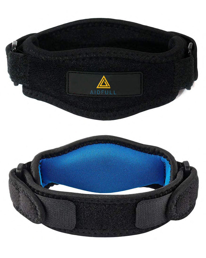Aidfull Knee Strap Support Patella Brace Band Pad