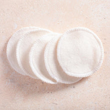 Load image into Gallery viewer, Bamboo Cotton Reusable Makeup Remover Pads - 12 Pieces - Eco Basics Online