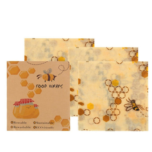 Beeswax Wrap (3-Pack) - Eco Basics Online
