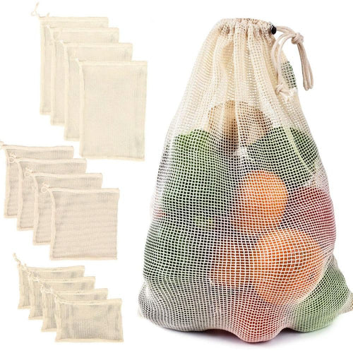 Reusable Mesh Vegetable Bag - Eco Basics Online