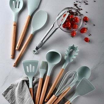 Silicone Cooking Utensils (9 to 13-Pack)