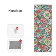 Load image into Gallery viewer, Travel Yoga Mat - Senior - Eco Basics Online