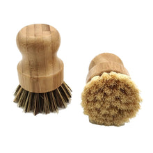 Load image into Gallery viewer, Wooden Handle Cleaning Brush - Eco Basics Online