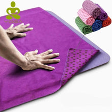 Load image into Gallery viewer, Yoga Mat Cover Towel - Eco Basics Online