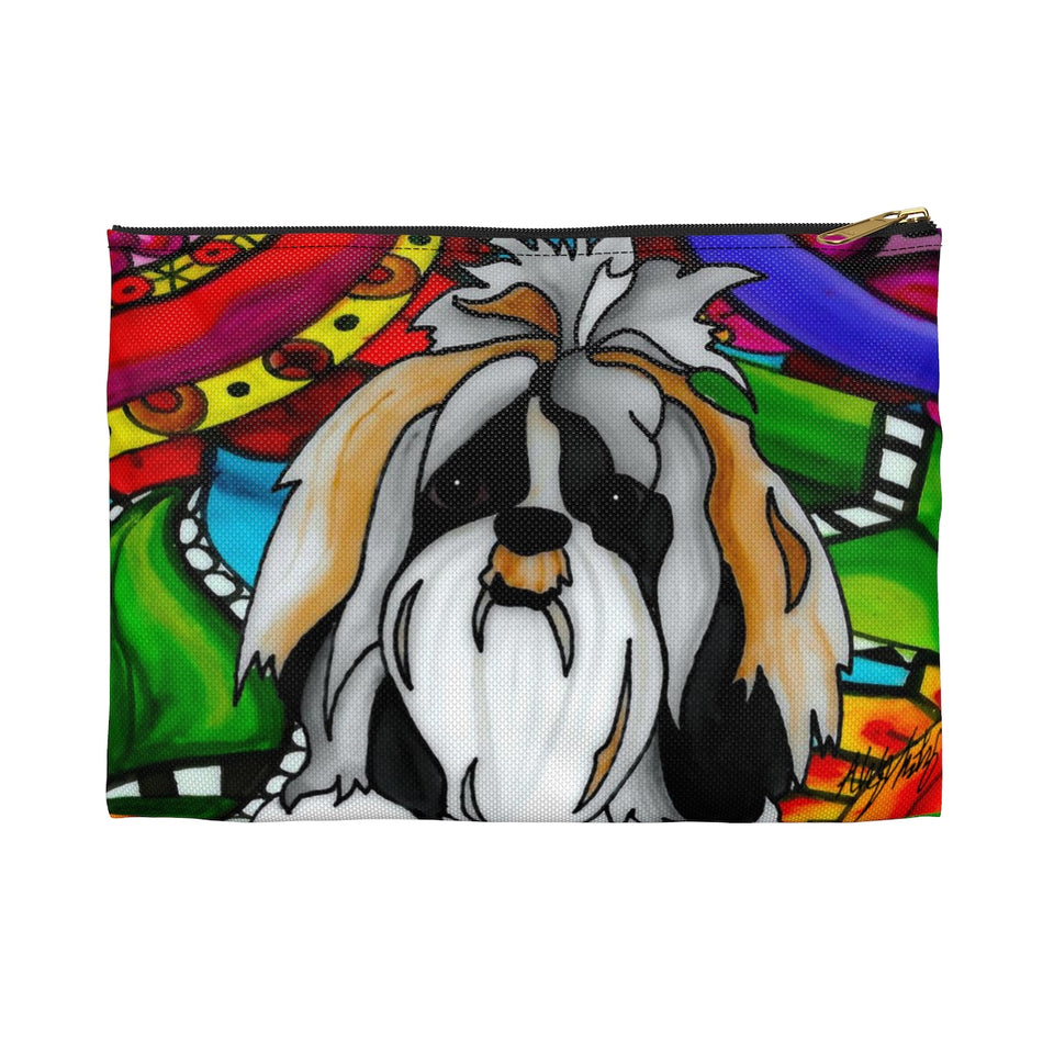 It's a Beautiful Shih Tzu Life Zipper Pouch