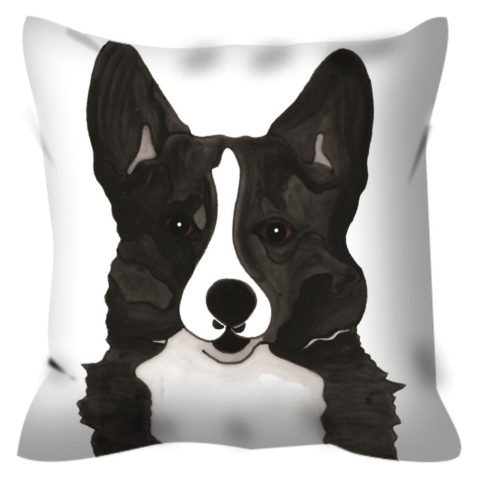 Corgi Dog Outdoor Pillow - 2 - SMH