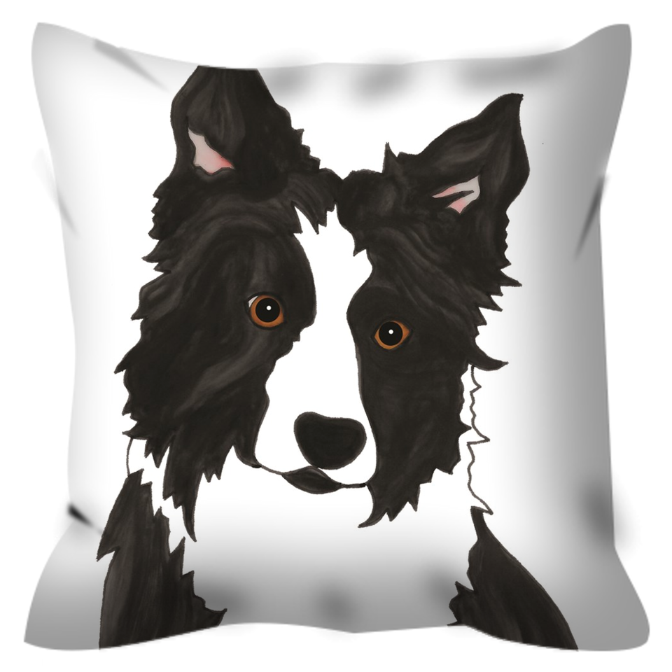 Border Collie Dog Outdoor Pillow - SMH