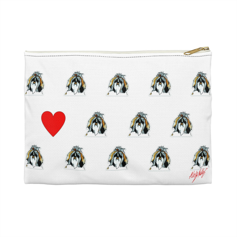 Shih Tzu Dog Zipper Pouch - SMH