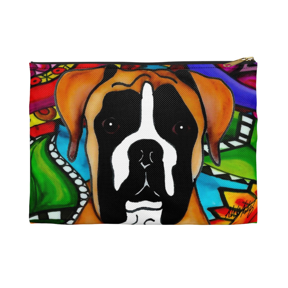 It's a Beautiful Boxer Life Zipper Pouch