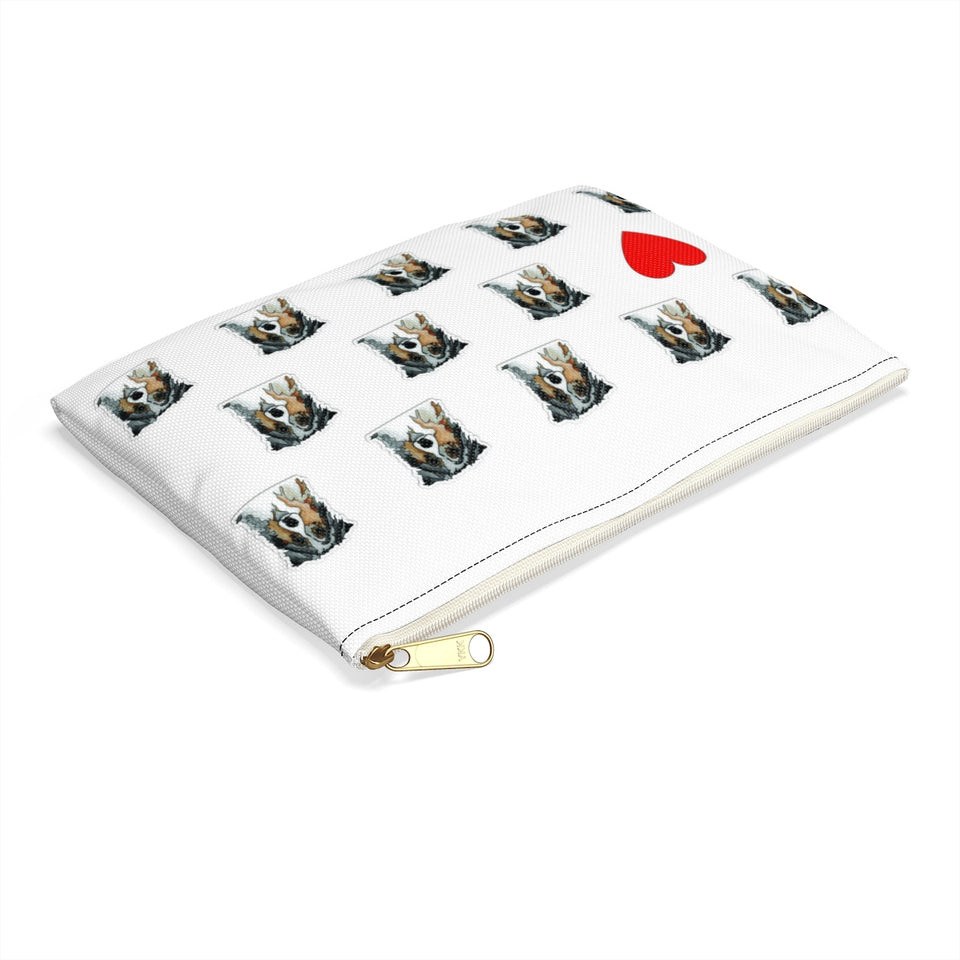 Australian Shepherd Dog Zipper Pouch - 1 - SMH