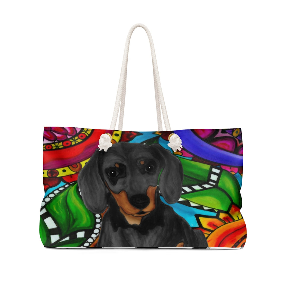 It's a Beautiful Dachshund Weekender Tote