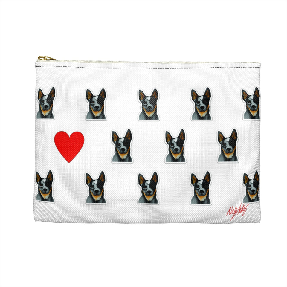 Heeler Dog Zipper Pouch - SMH