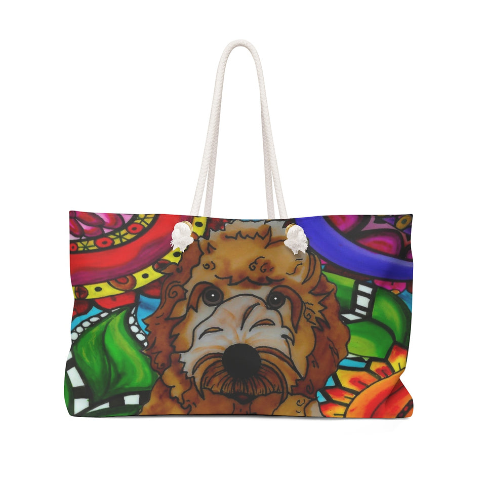 It's a Beautiful Labradoodle Life Weekender Tote