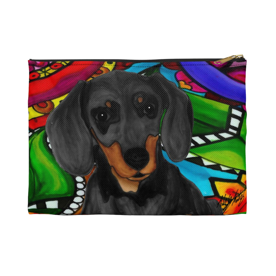 It's a Beautiful Dachshund Life Zipper Pouch