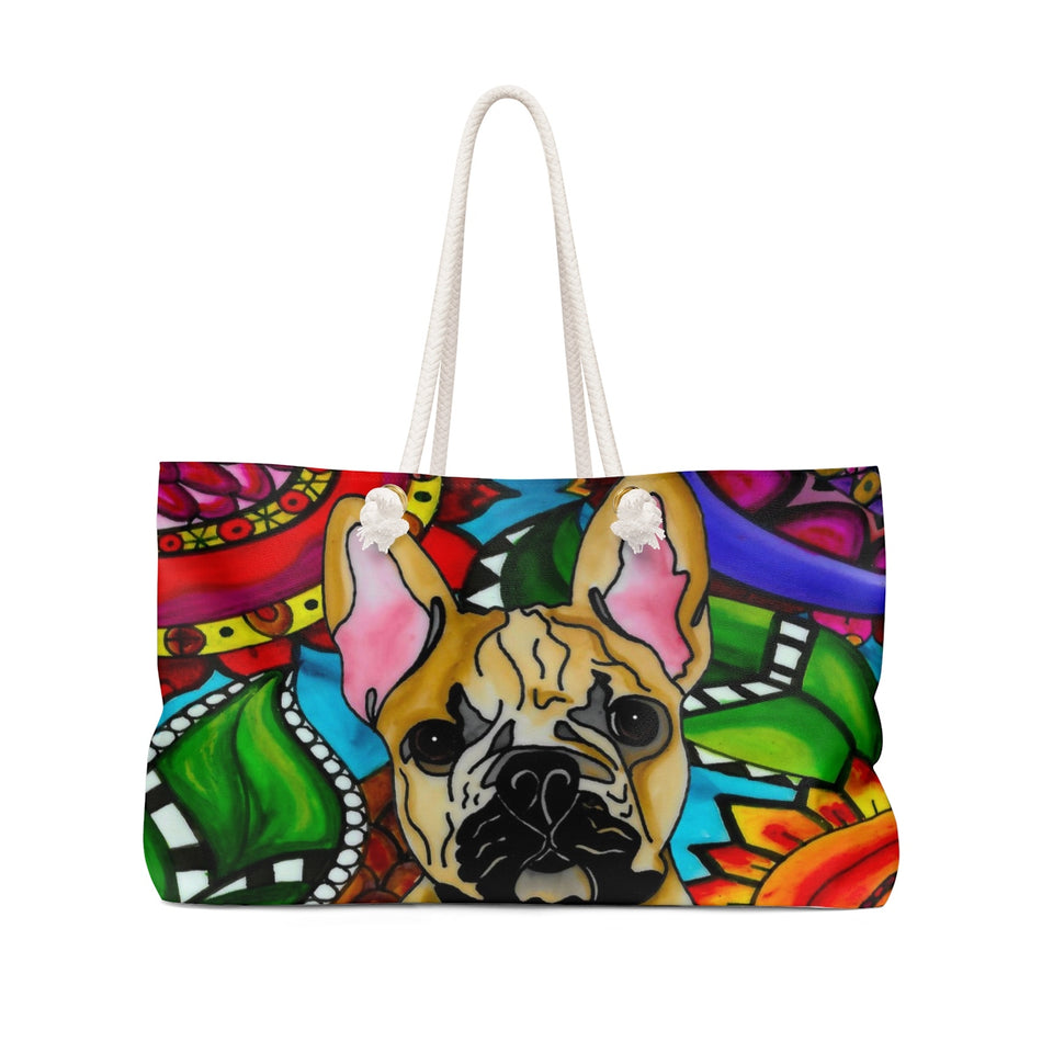 It's a Beautiful French Bulldog Life Weekender Tote