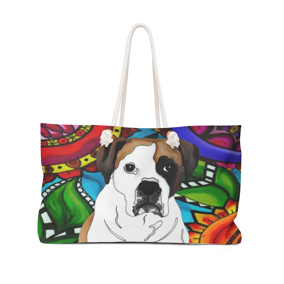 It's a Beautiful Boxer 2 Weekender Tote