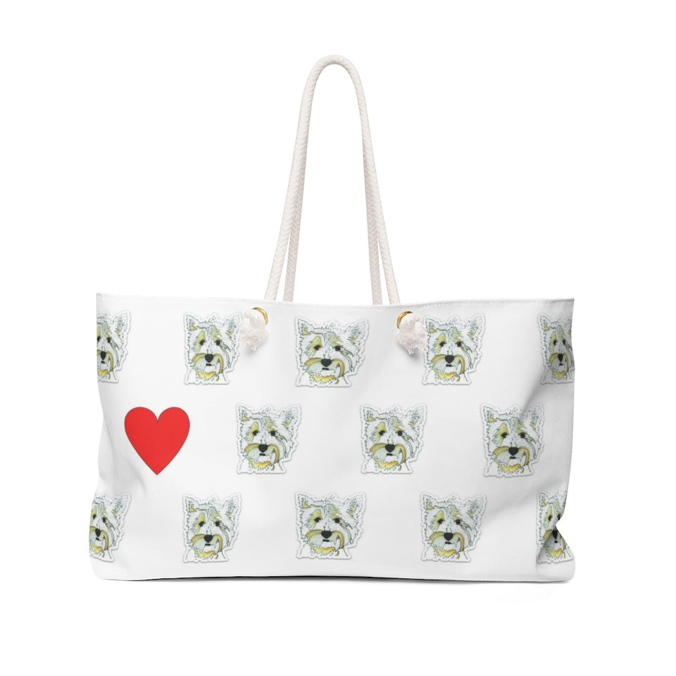 Highland Terrier Dog Weekender Tote - SMH