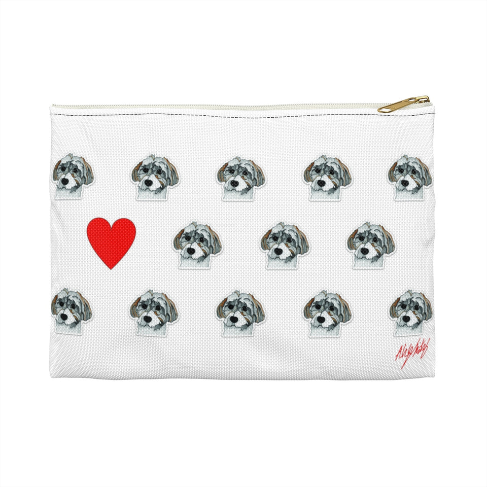 Havanese Dog Zipper Pouch - SMH