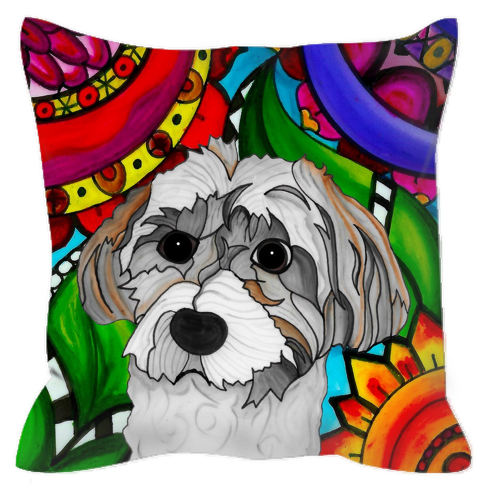 Havanese Dog Outdoor Pillow - BL
