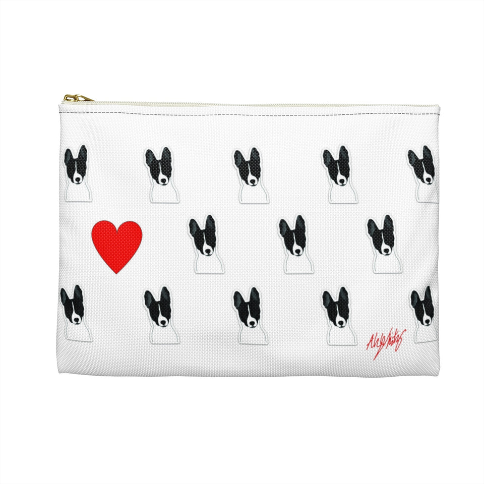 Basenji Dog Zipper Pouch - SMH